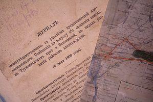 Bons temas para papéis história de pesquisa