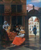 Penteados do século 17