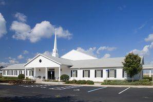 Leis de estacionamento da desvantagem por igrejas