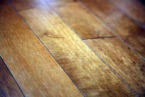 Por que o meu piso de madeira obter brega?