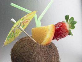 Ideias havaianas da cesta do presente