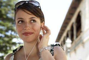 Problemas de fone de ouvido para o ipod nano