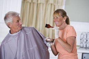 Efeitos na saúde de apenas para a tintura de cabelo homens