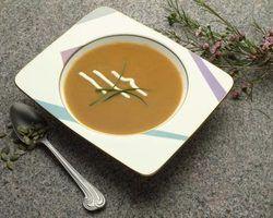 Ervas para a sopa de abóbora