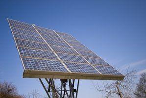 saída Top painéis solares.