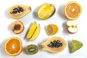 Produtos de frutas tempero latino-americanos