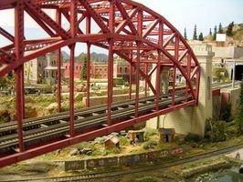 Ho ideias layout de trem escala