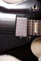 Produtos de limpeza doméstica guitarra