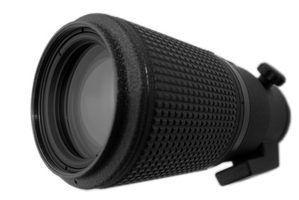 Limpador de lente de câmera caseira