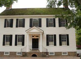 Casa projeta no século 18