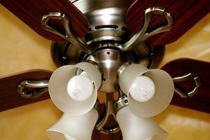 Quanta energia é que um ventilador de teto usar?