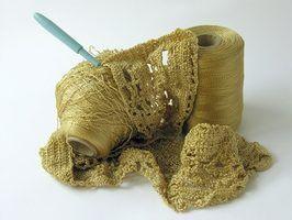Como adicionar crochê para fronhas