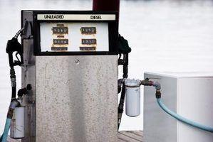 Como adicionar gasolina para diesel a ser usado para combustível