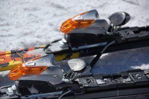 Como ajustar ligações de esqui Rossignol