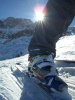 Como ajustar Salomon botas evolução de esqui