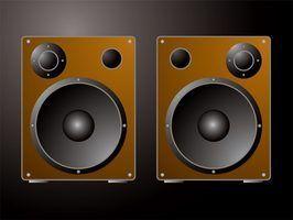 Alto-falante saída aumenta quando um amplificador é adicionado à mistura.