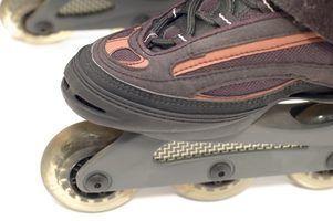 Como assar patins de hóquei em patins