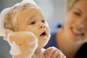 Como banhar um one-year-old