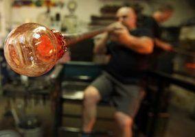 Como a soprar tubos de vidro em casa