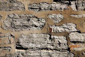 Como construir paredes de alvenaria de pedra