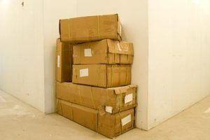 Meça o pacote para ajudar a determinar o custo de transporte.