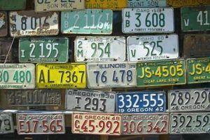 Como mudar o número da placa do carro