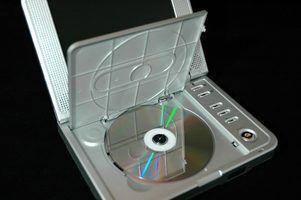 Como carregar a bateria em um leitor de DVD portátil