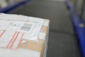 Como verificar em um pacote postal