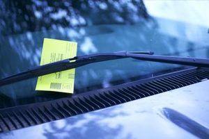 Como verificar bilhetes por uma placa de licença