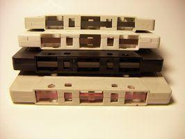 Como limpar cassete cabeças da cassete recorder