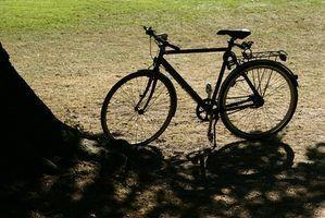 Como limpar a ferrugem off de uma bicicleta