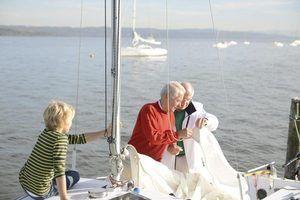 Como limpar velas veleiro