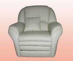 Como limpar lounges de couro branco