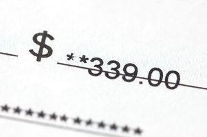Como para cobrar um cheque de um inquilino de arrendamento