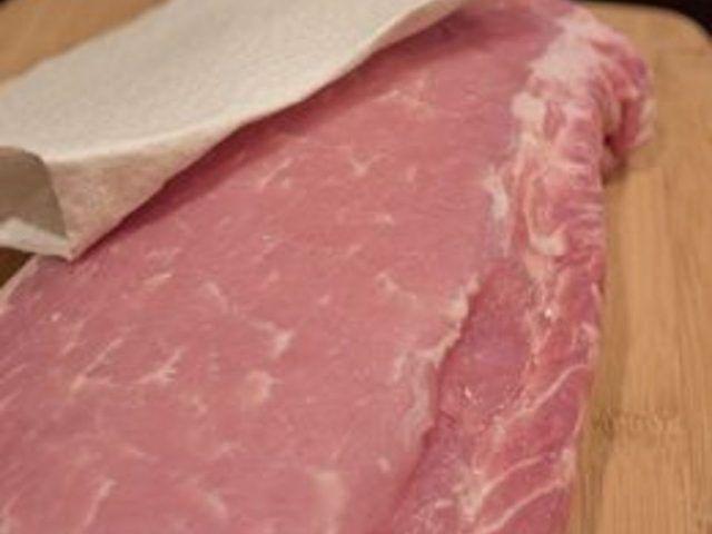 Como cozinhar um porco assado Lombo