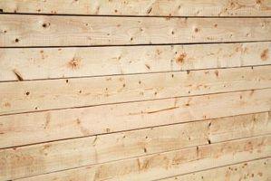 Como criar uma parede de tábuas