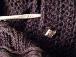 Instruções de crochet para afegãos celtas