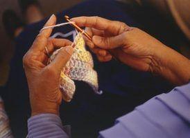 Como fazer crochê um ponto de costela