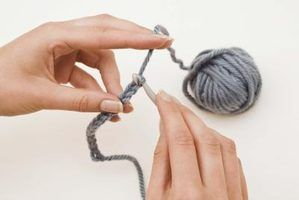 Como fazer crochê um lenço com um gancho q
