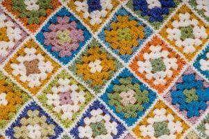 Como fazer crochê praças da avó para iniciantes