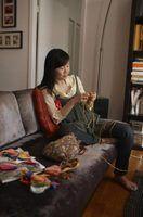 Como longa crochet agudos