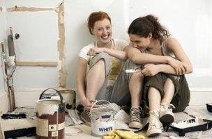 Como lidar com uma superfície de pintura irregular