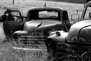 Como decodificar os números de série em 1953 caminhões de chevy