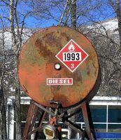 Como detectar um vazamento de combustível diesel
