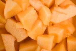 Como secar um melão