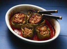 Como comer uma pimenta recheada adequadamente