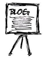 Alterar o nome do seu blog, editando o código HTML.