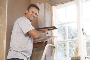 Como eliminar costuras em paredes de casas móveis
