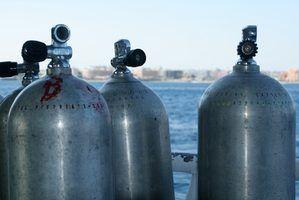 Como preencher cilindros de gás comprimido