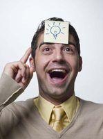 O uso de uma lâmpada para significar uma idéia é uma metáfora comum americano.